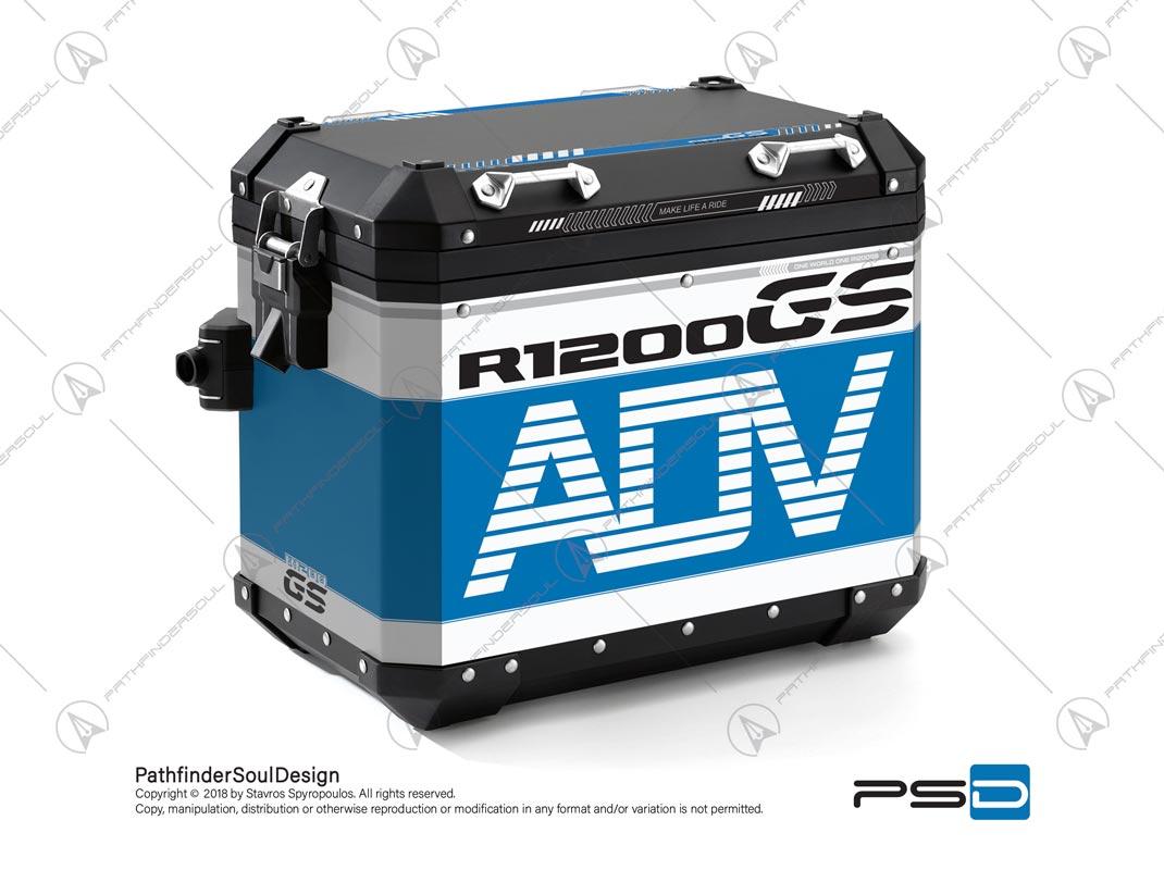 R1200gs Adventure Cordoba Blue Bmw Aluminium Panniers