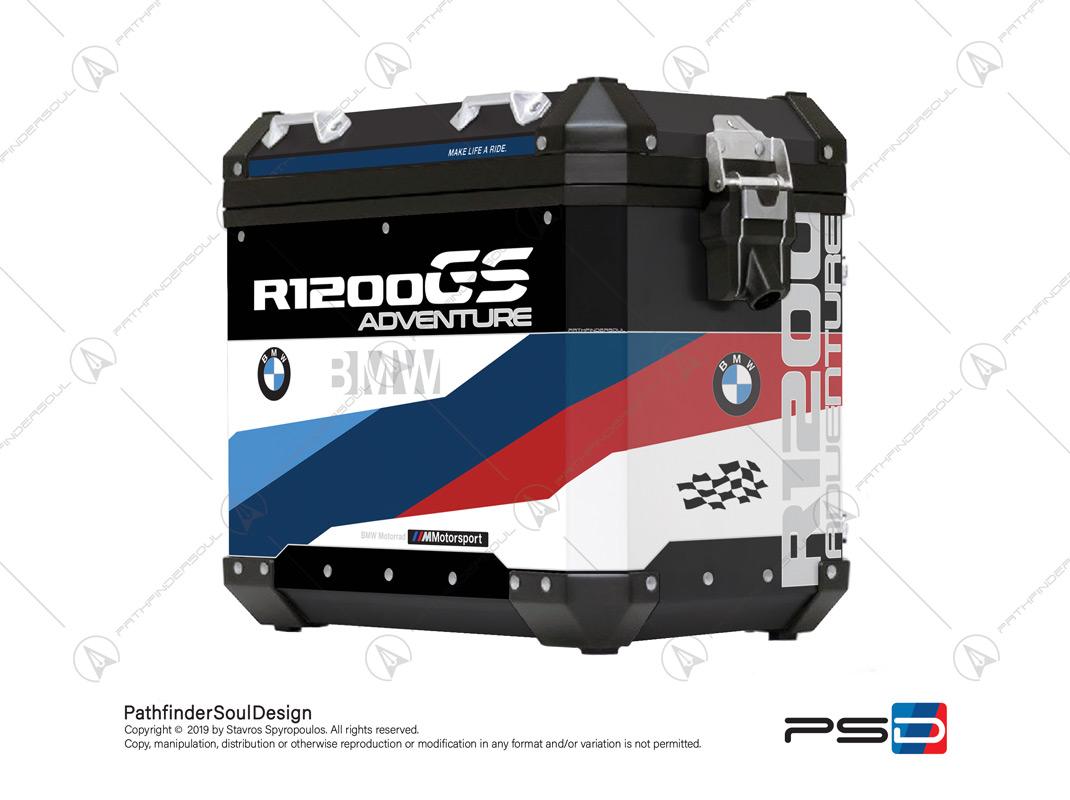 BMW R1200 GSA STICKERS DECAL SET